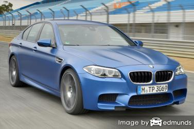 Insurance quote for BMW M5 in Atlanta