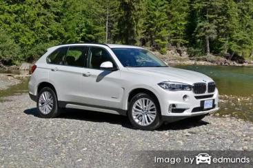 Insurance rates BMW X5 in Atlanta