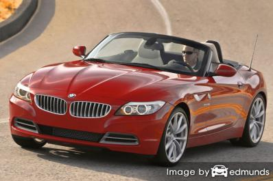 Insurance quote for BMW Z4 in Atlanta