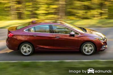 Insurance rates Chevy Cruze in Atlanta