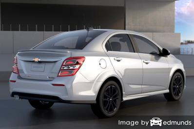 Insurance quote for Chevy Sonic in Atlanta