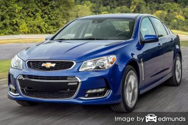 Insurance quote for Chevy SS in Atlanta