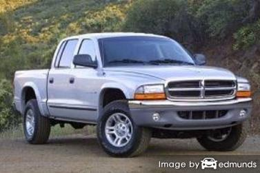 Insurance quote for Dodge Dakota in Atlanta