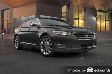 Insurance rates Ford Taurus in Atlanta