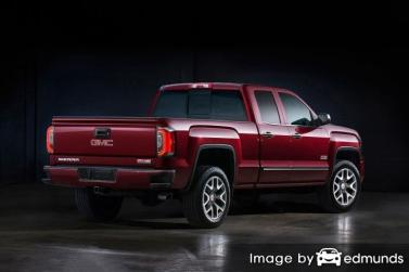 Insurance rates GMC Sierra in Atlanta