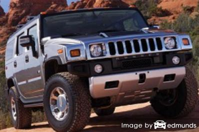 Insurance quote for Hummer H2 in Atlanta
