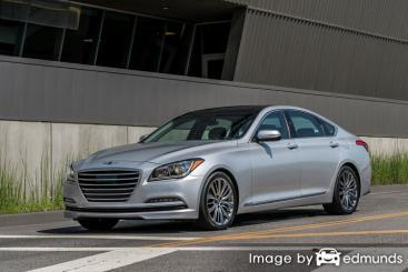 Insurance quote for Hyundai G80 in Atlanta