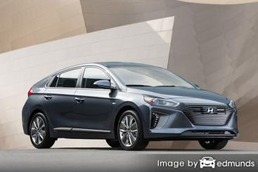 Insurance quote for Hyundai Ioniq in Atlanta