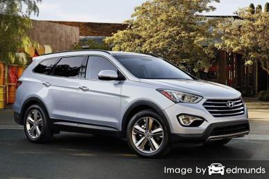 Insurance rates Hyundai Santa Fe in Atlanta