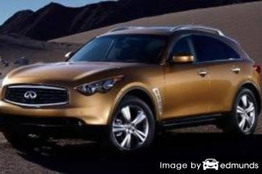 Insurance quote for Infiniti FX35 in Atlanta