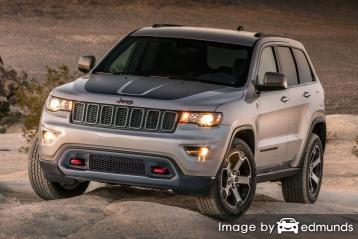 Insurance rates Jeep Grand Cherokee in Atlanta