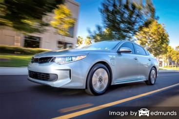 Insurance rates Kia Optima Plug-In Hybrid in Atlanta