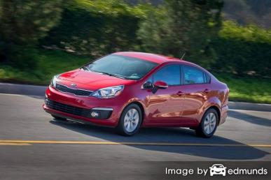 Insurance rates Kia Rio in Atlanta