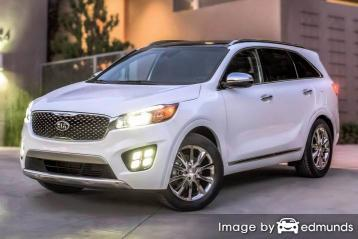 Insurance quote for Kia Sorento in Atlanta