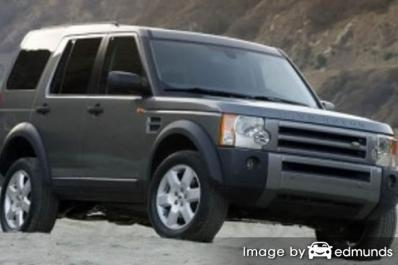 Insurance rates Land Rover LR3 in Atlanta