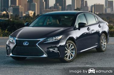 Discount Lexus ES 300h insurance