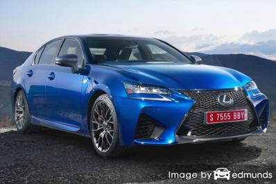 Insurance quote for Lexus GS F in Atlanta