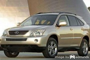 Discount Lexus RX 400h insurance