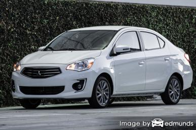 Insurance rates Mitsubishi Mirage G4 in Atlanta