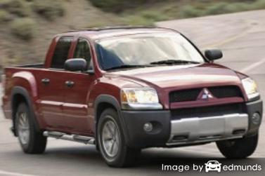 Insurance quote for Mitsubishi Raider in Atlanta
