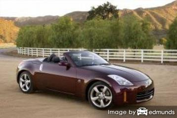 Insurance quote for Nissan 350Z in Atlanta
