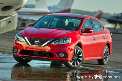 Insurance quote for Nissan Sentra in Atlanta