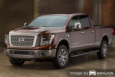 Insurance quote for Nissan Titan XD in Atlanta