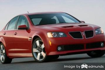 Insurance quote for Pontiac G8 in Atlanta