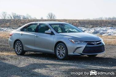 Insurance quote for Toyota Camry in Atlanta
