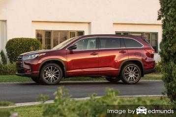Insurance for Toyota Highlander