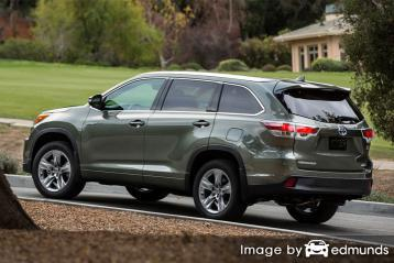 Insurance quote for Toyota Highlander Hybrid in Atlanta