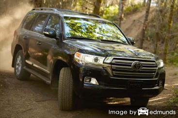 Insurance rates Toyota Land Cruiser in Atlanta