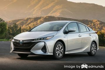 Insurance rates Toyota Prius Prime in Atlanta