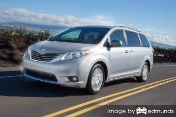 Insurance quote for Toyota Sienna in Atlanta