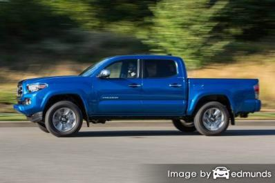 Insurance rates Toyota Tacoma in Atlanta