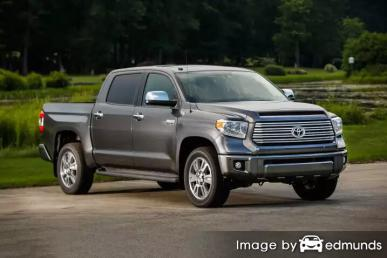 Insurance quote for Toyota Tundra in Atlanta