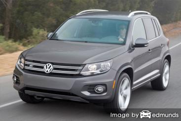Insurance quote for Volkswagen Tiguan in Atlanta